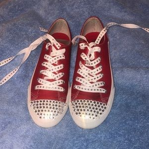 Shoes - ( Converse/ van) mossimo  supply Co. bedazzled